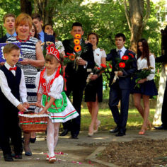 Hungarians in Transcarpathia. File photo