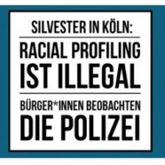 Racial Profiling Köln